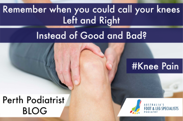 Perth Podiatrist FAQ – Do Bad Feet Cause Knee Pain?