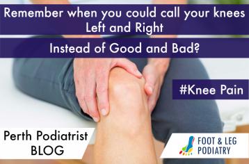 Perth Podiatrist FAQ – Do Bad Feet Cause Knee Pain?